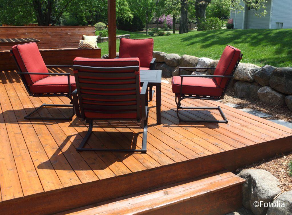 Holzschutz Terrasse