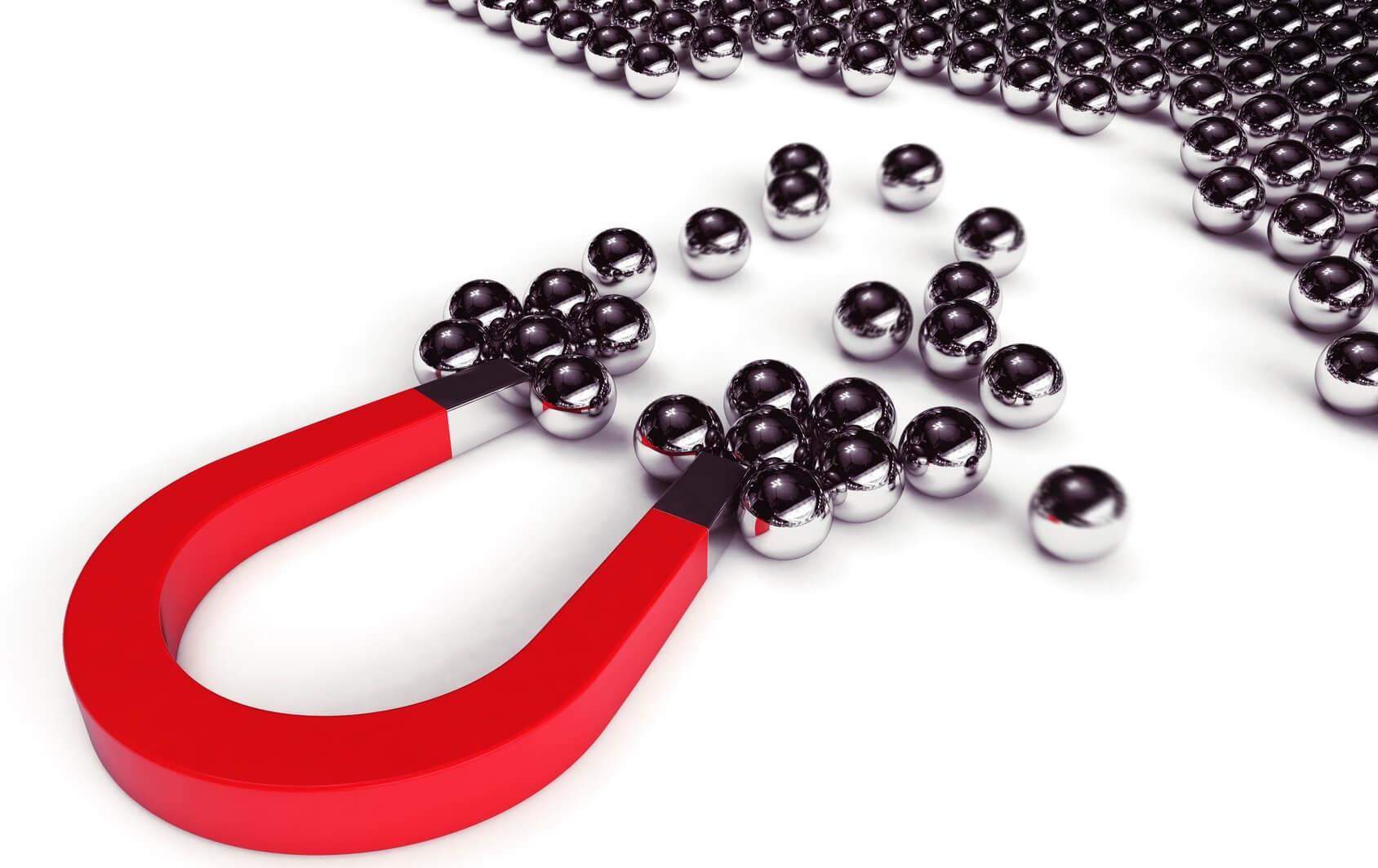 Magnete für Tapete