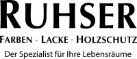 RUHSER Farbenfachhandel in Wien Logo