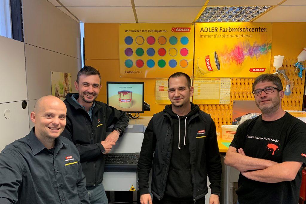 Team Farbenfachhandel Wien